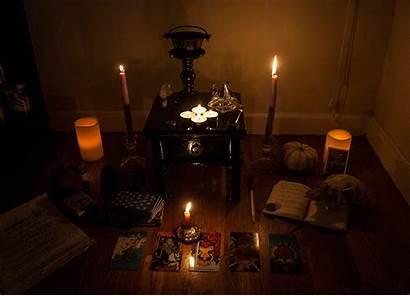 Altar Samhain Witch Magick
