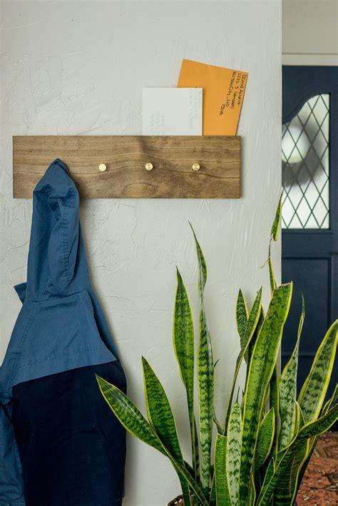 build  mount  coat rack ehow