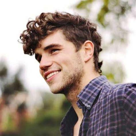 ideas  men curly hairstyles  pinterest
