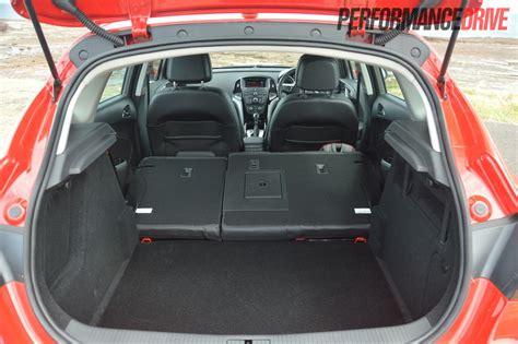 opel astra sport folded seats cargo space