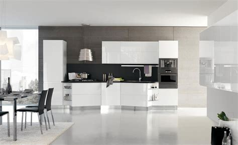 modern kitchen ideas with white cabinets new modern kitchen design with white cabinets bring from stosa digsdigs