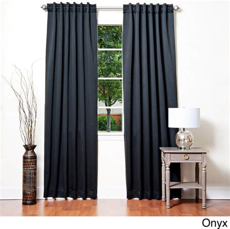 insulated thermal blackout 84 inch curtain panel pair