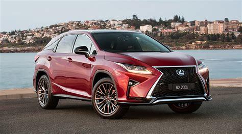Lexus Reveals Two More Rx Models