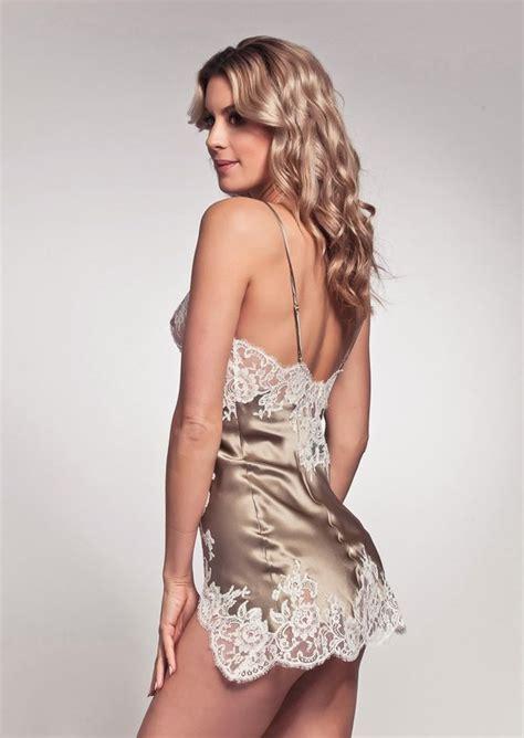 foto de Marjolaine Gemma Slip Dress Beige & Ivory Designer