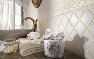 Bad Accessoires Vintage : shabby chic badezimmer vintage look stilvoll inszenieren ~ Whattoseeinmadrid.com Haus und Dekorationen