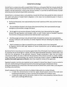 Psychology As A Science Essay Animal Farm Theme Analysis Essay Examples Critical Analysis Essay Example Paper also Sample Essay Paper Animal Farm Theme Essay Argumentative Essay Questions Animal Farm  Example Of Thesis Statement For Argumentative Essay