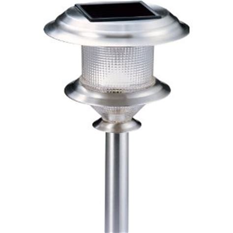 stainless steel solar lights set of 4 by alpan solar