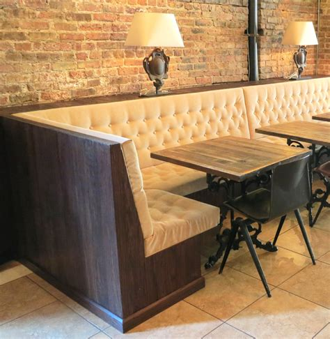 Custom Made Banquette Seating - custom banquette seating