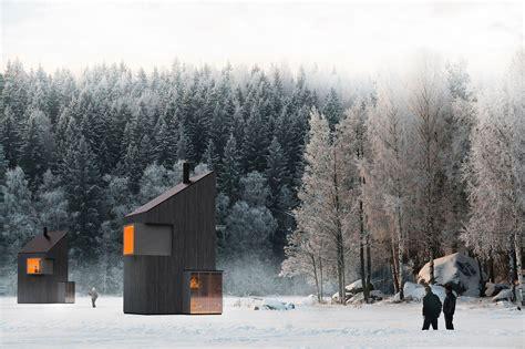 türkranz winter modern a modern winter shelter by fo4a architecture