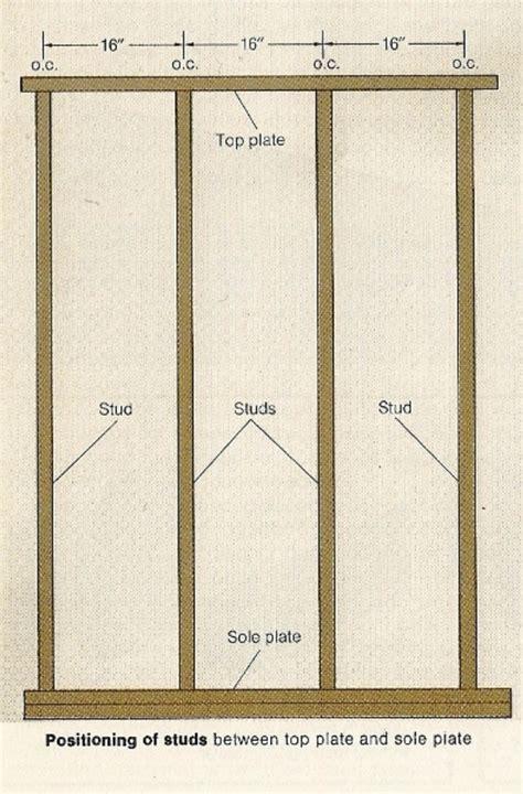 how to frame a wall framing walls wall framing layout