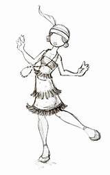 Flapper Drawing 1920s Deviantart Bad Sketches Katya Draw Sketch Coloring Pages Template 2007 Getdrawings sketch template