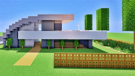 minecraft comment faire une maison moderne minecraft tuto comment faire une maison originale