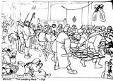 Feast Bruegel Coloring Outline Colouring Drawings Practicalpages Drawing Painting Colors Pieter Famous sketch template