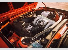 The H&R Fire Orange BMW E30 318is Restoration