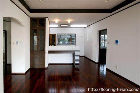 s g flooring 無垢フローリングのある暮らし お気に入りの床で建てられた平屋の家 チーク無垢フローリング