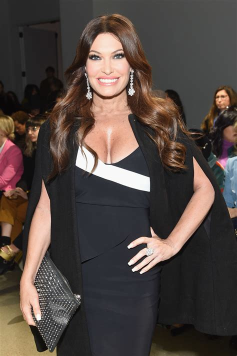 kimberly guilfoyle petite front robe chiara boni row february week shows york zimbio