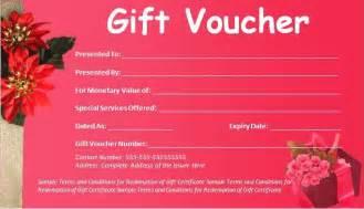 Gift Voucher Template Free