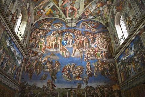 Painted The Ceiling Of The Sistine Chapel In Rome by Keeping In Touch With Yungnickel Sistine Chapel And