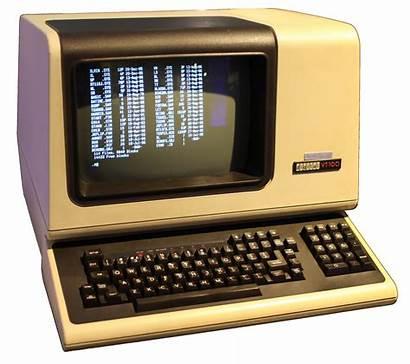 Terminal Computer Display Were Dec Dumb History