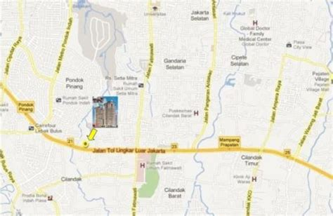 beverly tower simatupang apartment  rent sale
