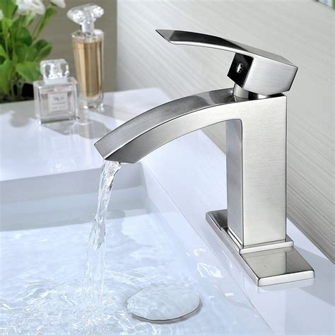 contemporary bathroom faucets amazoncom