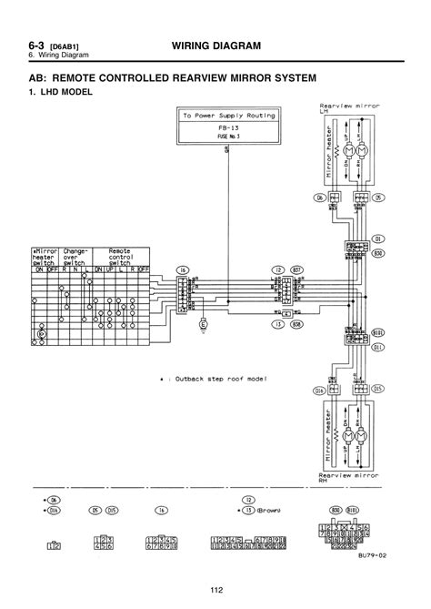Wire Diagram 99 Forester by Installing Heated Mirrors On A Car That Came Without Them