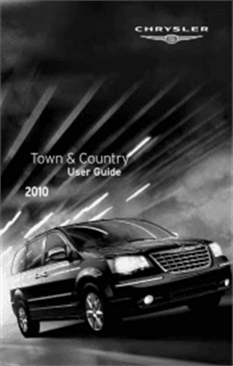 2010 Chrysler Town & Country Manuals