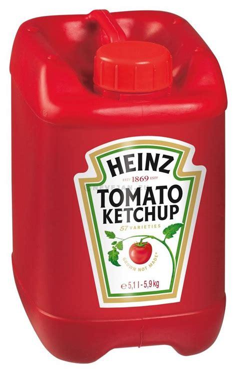 Heinz tomato ketchup 5.1L 5.7kg bidon Achat En Ligne - Nevejan