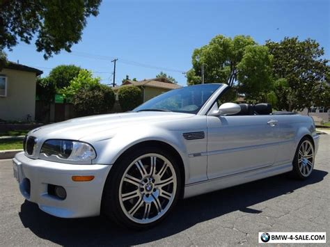 2005 Bmw M3 Convertible For Sale In United States