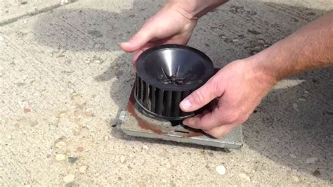 replace bathroom exhaust fan between floors repairing a nutone bathroom fan by how to bob youtube