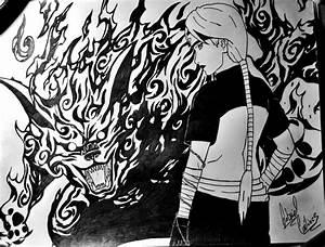 Yugito Nii and Nibi (Matatabi) by AugustBurnsRed777 ...