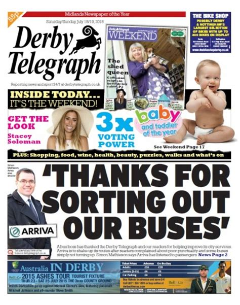 The uk's #1 running looking for a running coach in derby, further afield in derbyshire or elsewhere? Arriva thanks Derby Telegraph over bus consultation ...