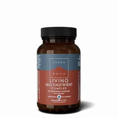 Multinutrient Living Complex Terranova Capsules Health Multi
