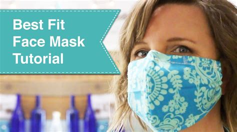 fit facemask tutorial pretty handy girl
