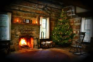 Yule Log Fireplace