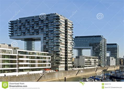 Berühmte Architekten Berlin by Moderne Architektur Rhein Skyline K 246 Ln Redaktionelles