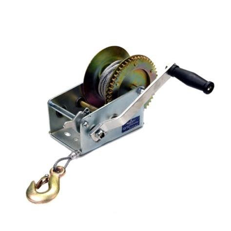 Jet Boat Winch by Manual Winch 2500lbs 1136kg Steel Cable Boat Jet