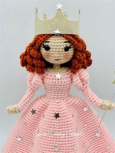 crochet pattern glinda  good witch wizard  oz