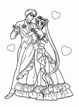 Coloring Pages Sailor Moon Sheets Anime Boyfriend Dance Colouring Printable Manga Princess Books Adult Dresses Plockhorst Sailormoon Valentine Friends sketch template