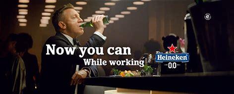 Heineken 0.0 No Time To Die commercial features Daniel ...