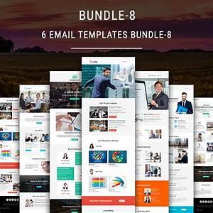 6 newsletter templates bundle 8 pennyblack templates With mymail newsletter templates