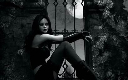 Gothic Vampire Goth Dark Loli Wallpapers Backgrounds