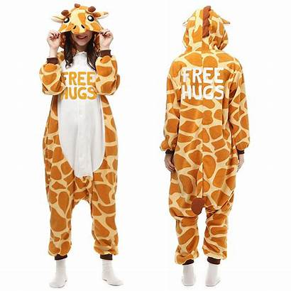 Giraffe Onesie Hugs Animal Onesies Kigurumi Pajamas