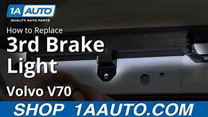 How To Repair Broken Light How To Install Remove Service 3rd High Mount Brake Light