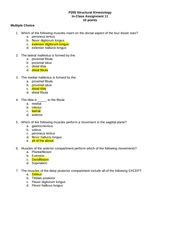 They include the abductor halluces, the flexor digitorum brevis, the abductor digiti minimi, and the quadratus plantae. CHAPTER 19 WORKSHEET - CHAPTER 19 WORKSHEET THE ANKLE AND ...