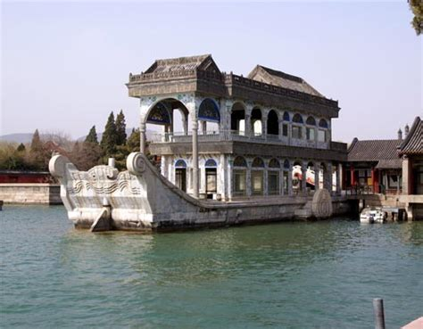 Pekin Boat Club Drawing by The Gallery For Gt Empress Dowager Cixi Summer Palace
