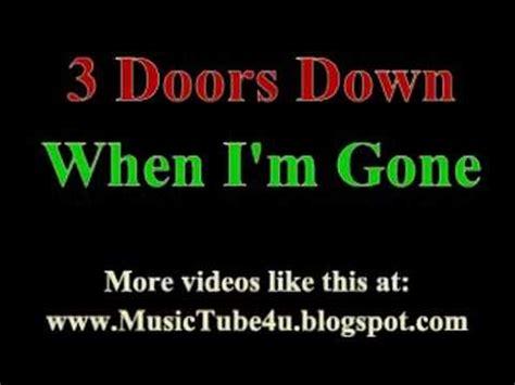 3 doors when i m 3 doors when i m lyrics