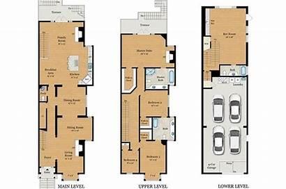 San Francisco Victorian Townhouse Blueprints Baker Plans