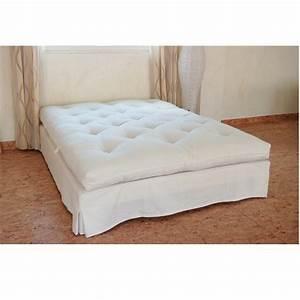 Futon 1 Place : futon pure laine vierge fabriqu main 1 place chambre saine ~ Teatrodelosmanantiales.com Idées de Décoration
