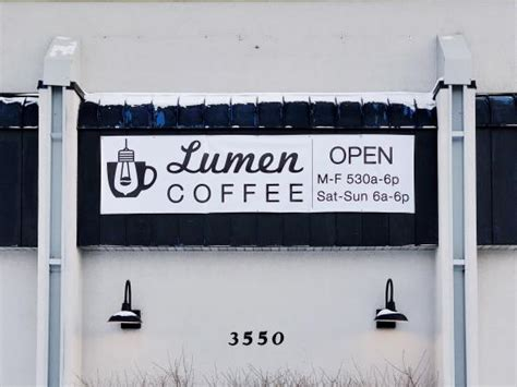 Unwind admiring the cathedral from our outside seating, on our sofa's or if you just can't. Lumen Coffee | Rochester, MN 55901